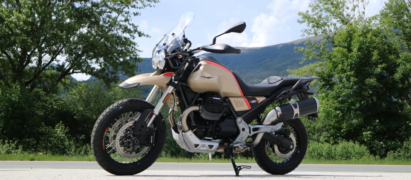 Reservier Dir jetzt dein Traumfahrzeug… z.B. die Moto Guzzi V85TT !