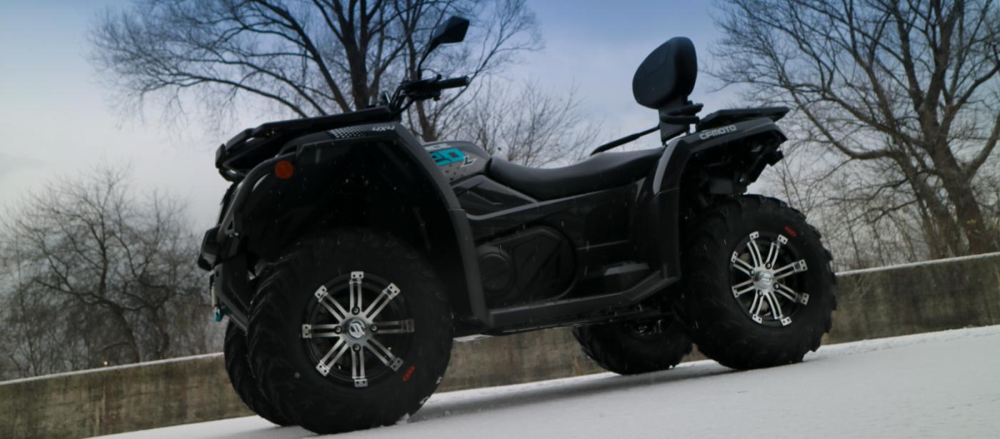 ATVs und Quads von 50cc bis 1000cc!